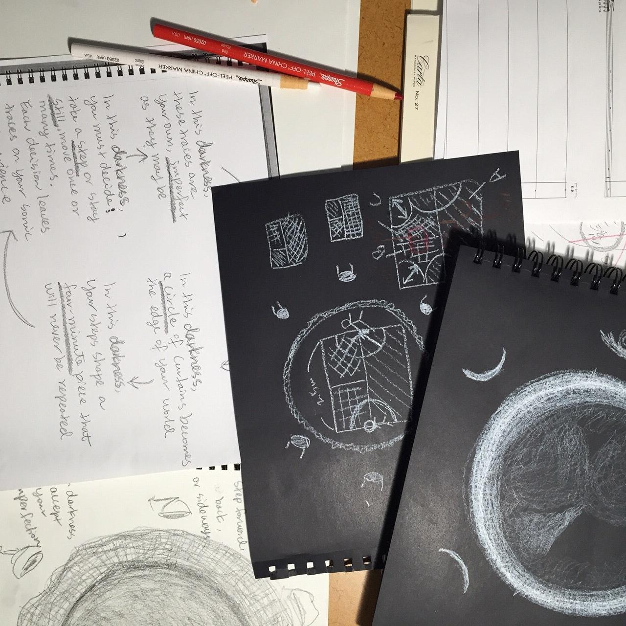 Reiko Yamada Prep Drawings 1
