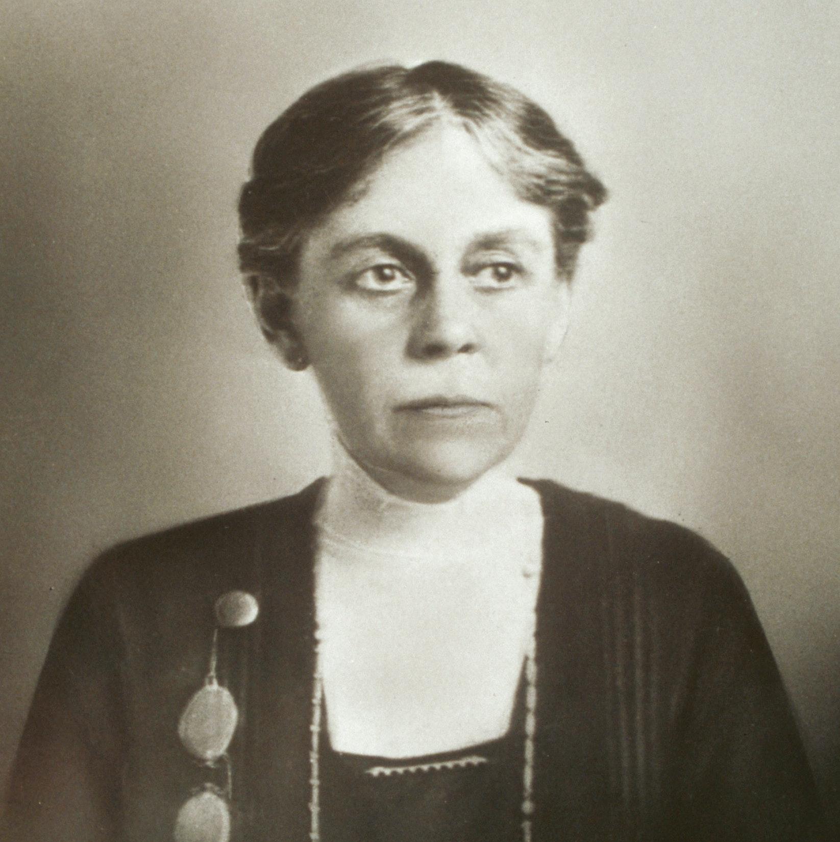 Portrait of Alice Hamilton