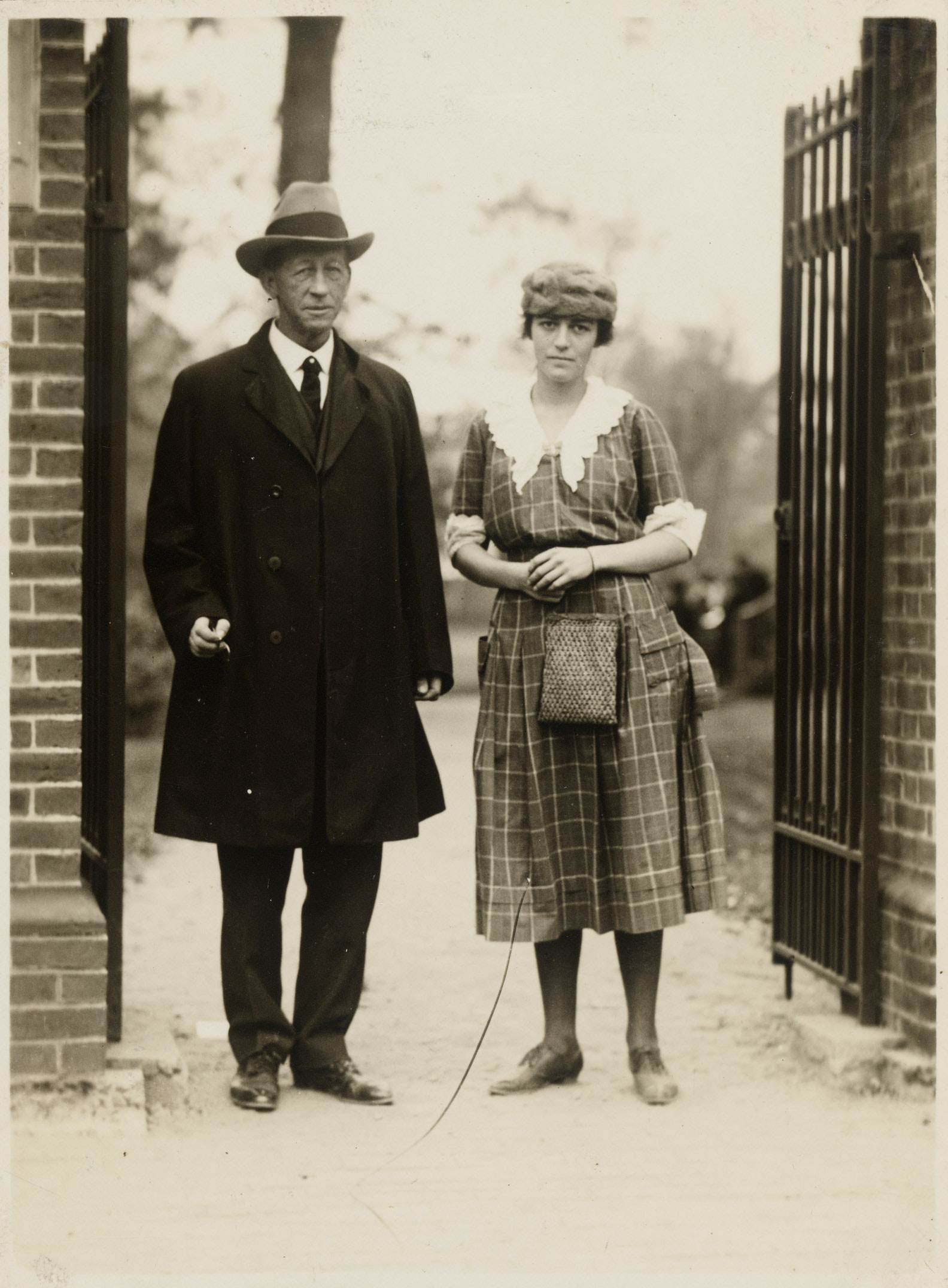 Portrait of Le Baron Russell Briggs and Helen Curtis