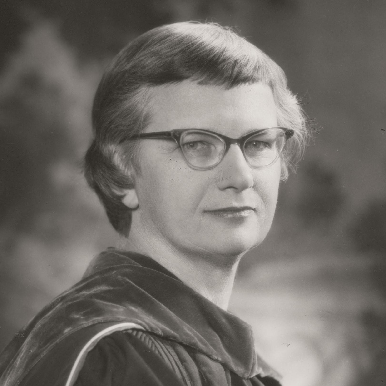 Portrait of Mary Ingraham Bunting
