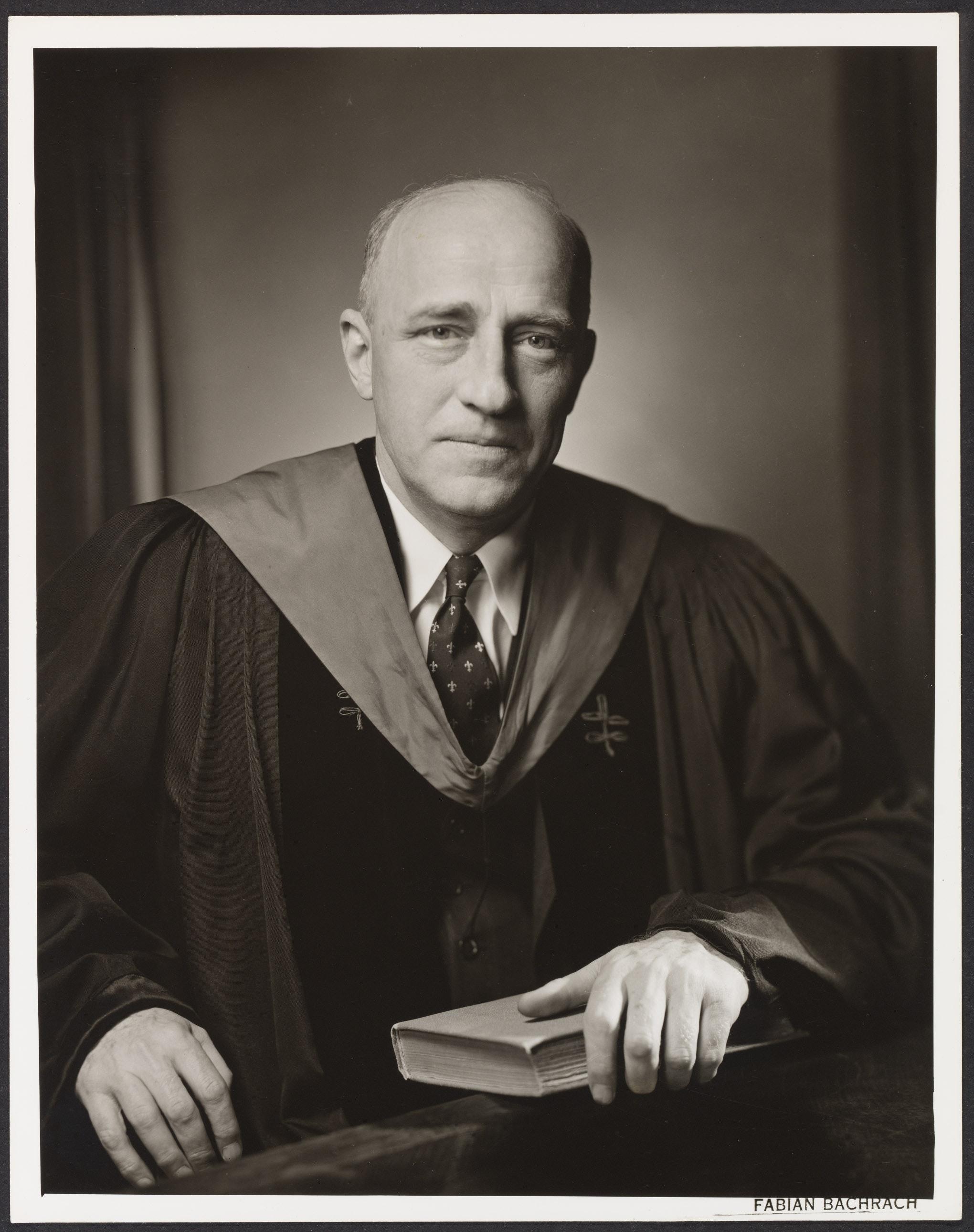Portrait of Wilbur Kitchener Jordan