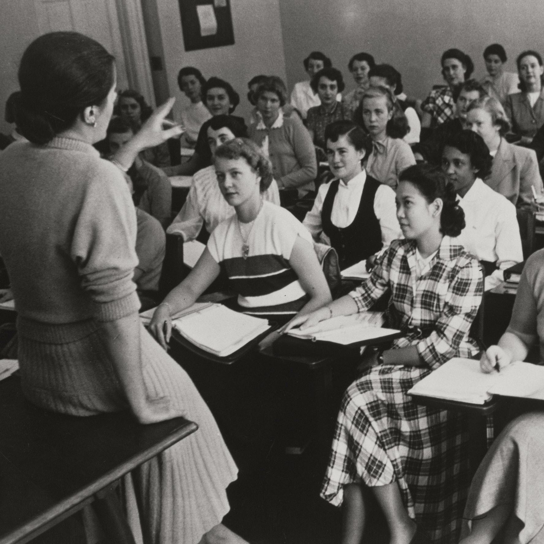 Management Training Program in classroom