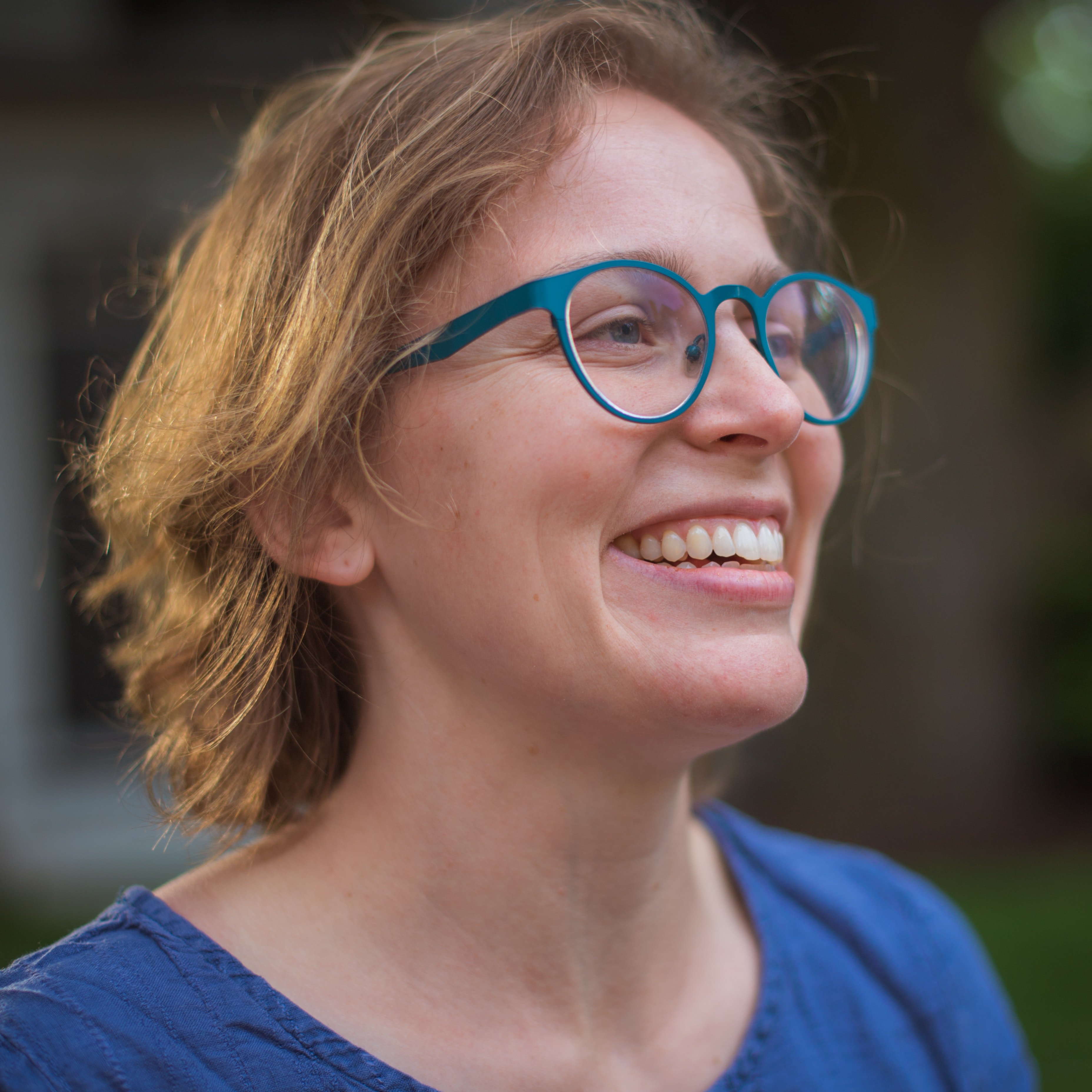 Portrait of Elena Leah Glassman