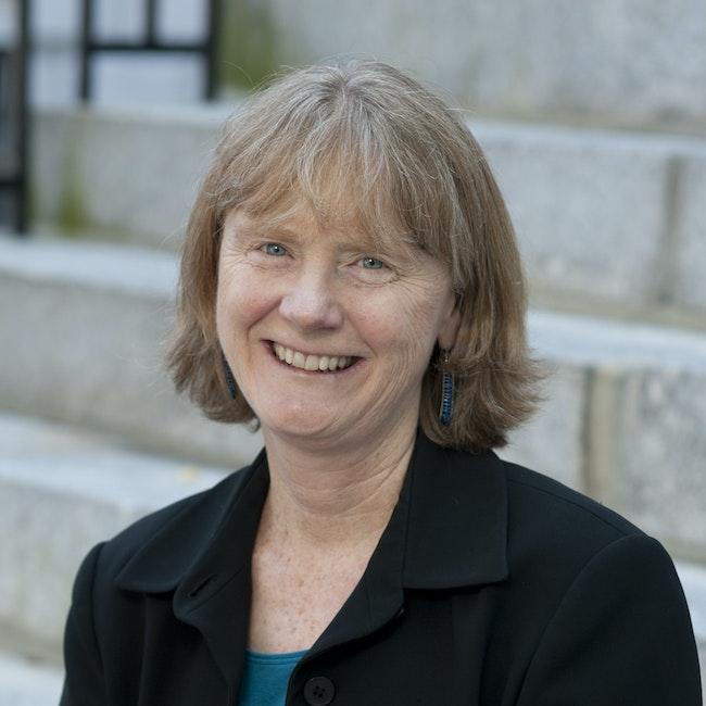 Headshot of Margaret Weir