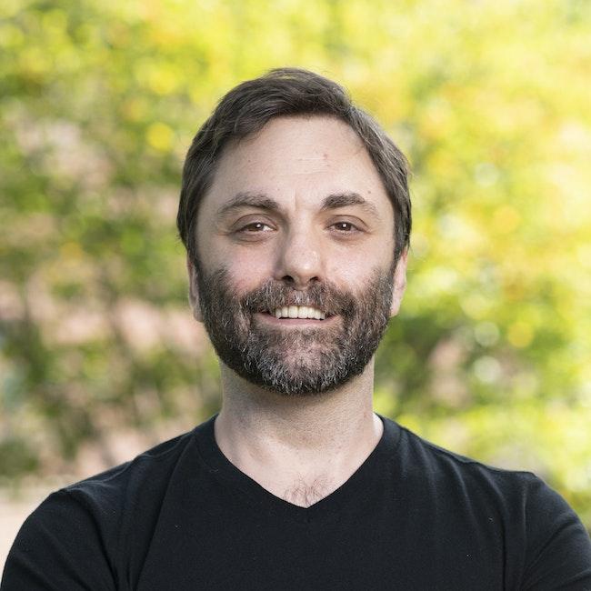 Headshot of Christopher Shinn