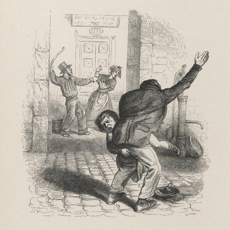 Engraving from Grandville