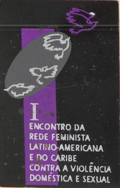 Latin American and Caribbean Feminist Network Against Domestic and Sexual Violence button