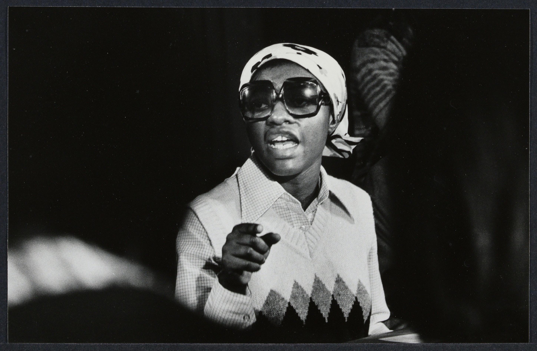 Joan Little taken by Bettye Lane