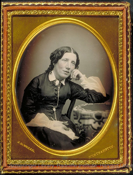 Portrait of Harriet Beecher Stowe