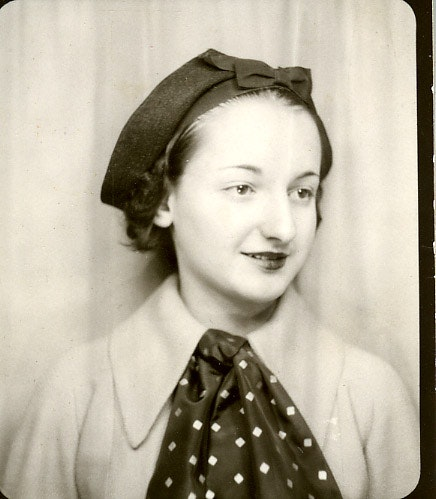 Portrait of Betty Friedan in Junior High School