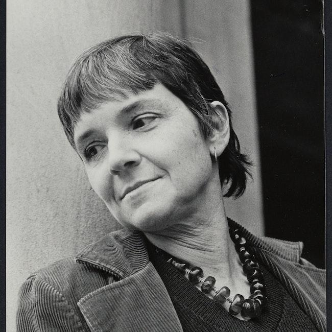Portrait of poet, Adrienne Rich