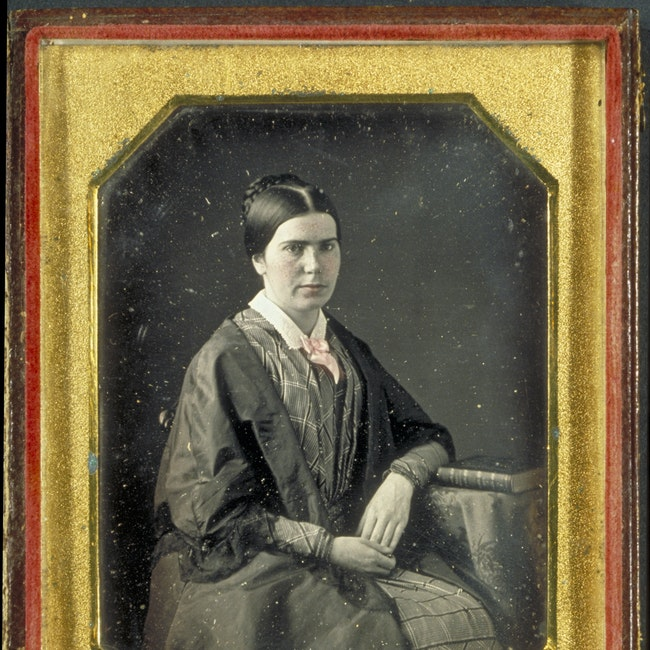Portrait of Marian Blackwell seated