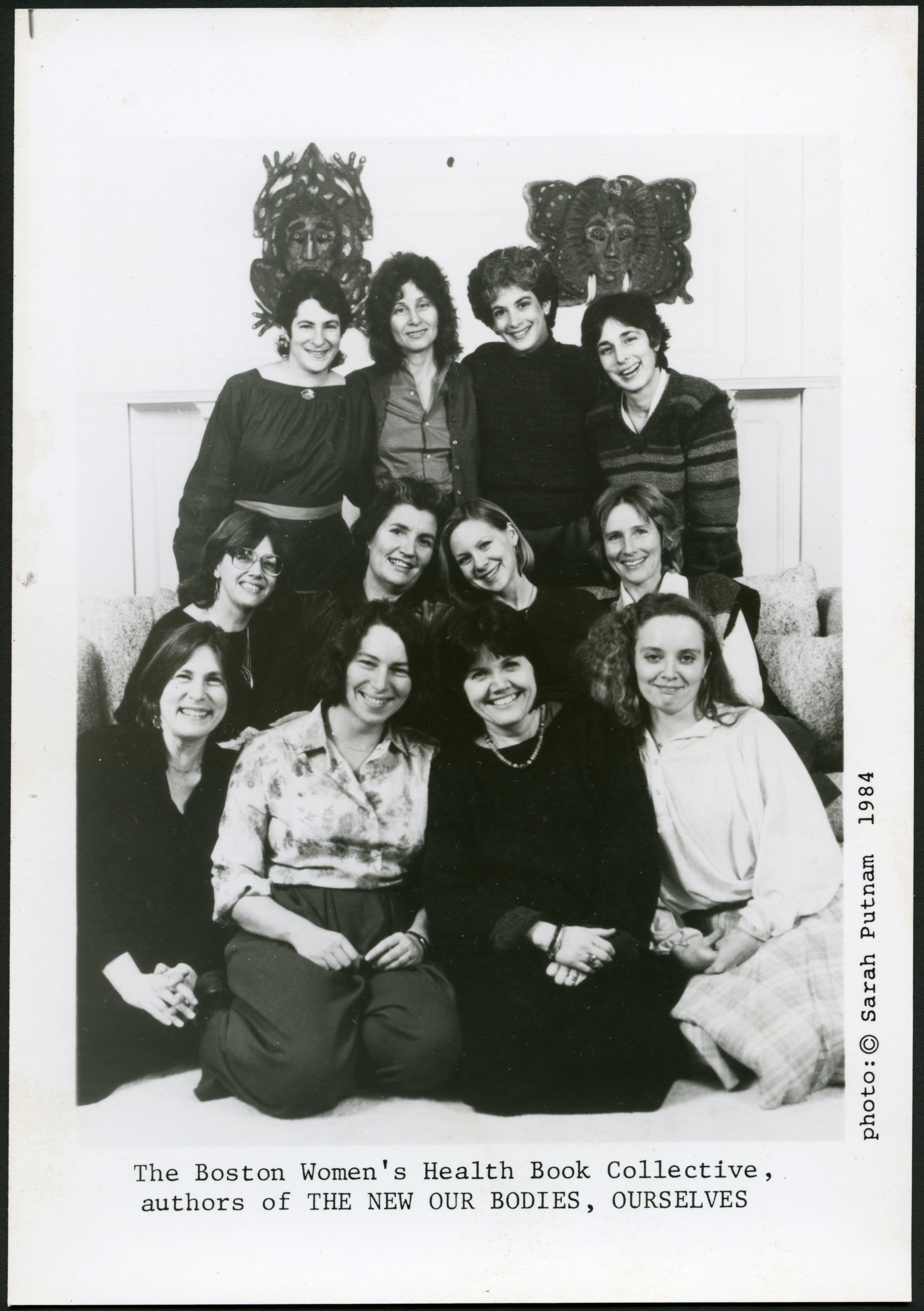 Founders of the Boston Women's Health Book Collective, publicity photograph, copy print