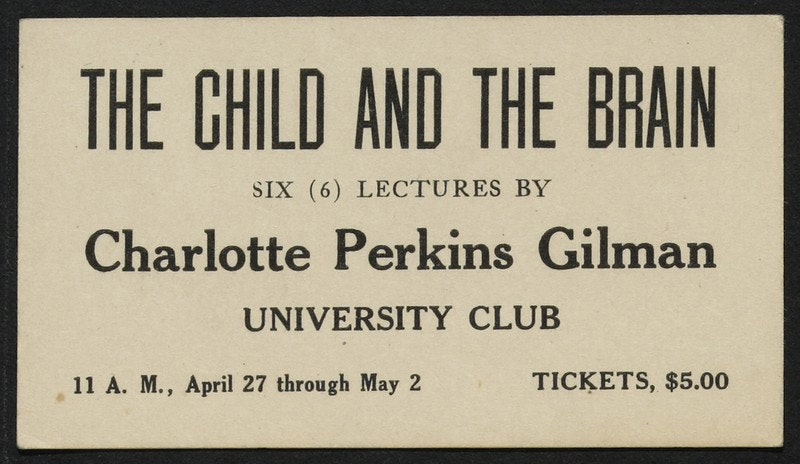 Charlotte Perkins Gilman Papers