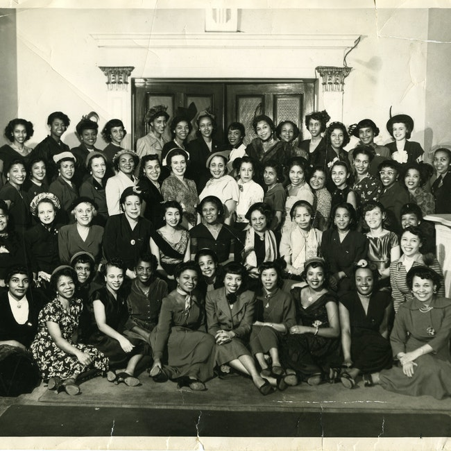 Delta Sigma Theta Sorority Boston Alumnae Chapter Records Schlesinger Olvwork568082