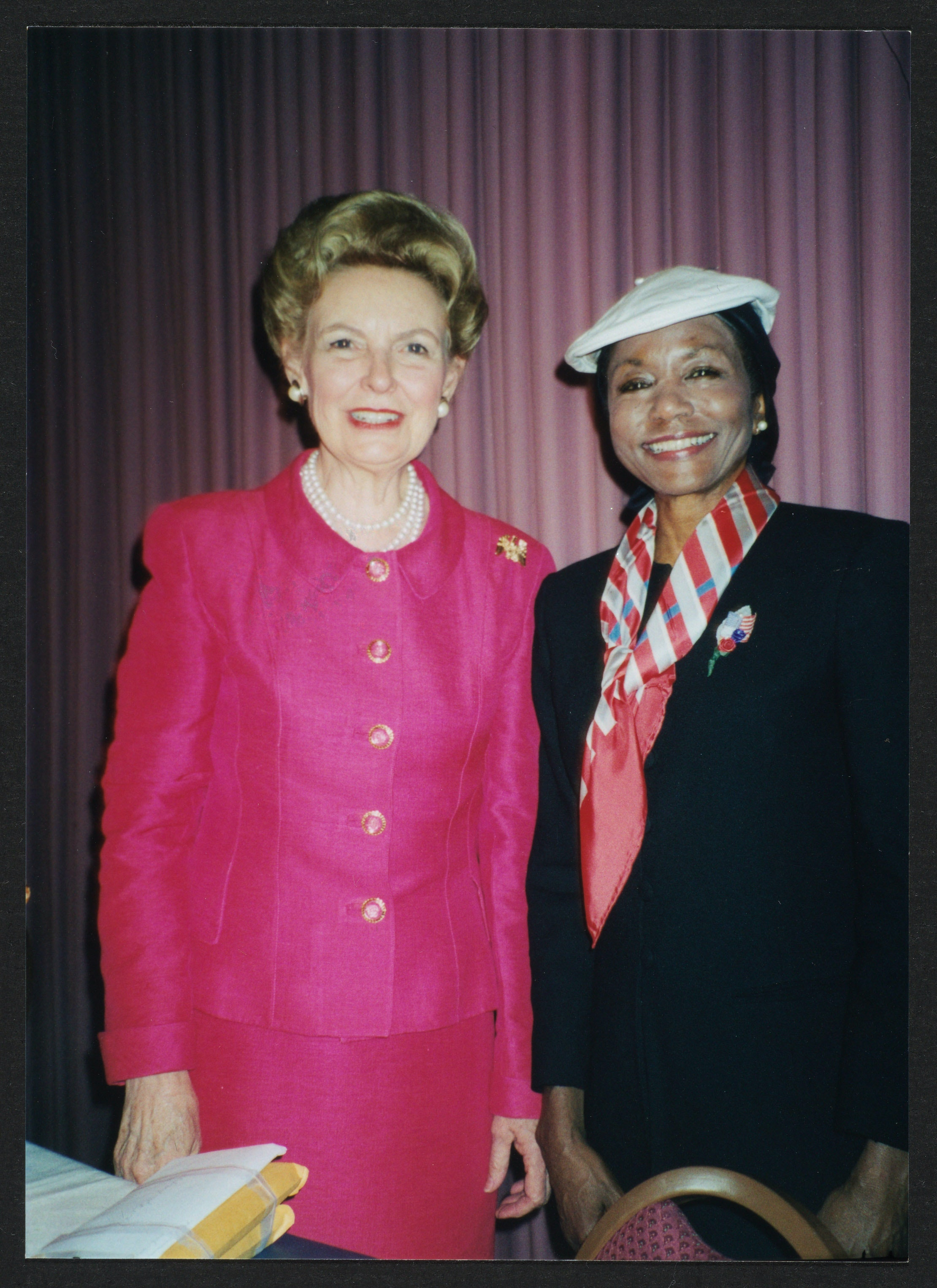 Phyllis Schlafly with Mildred Jefferson