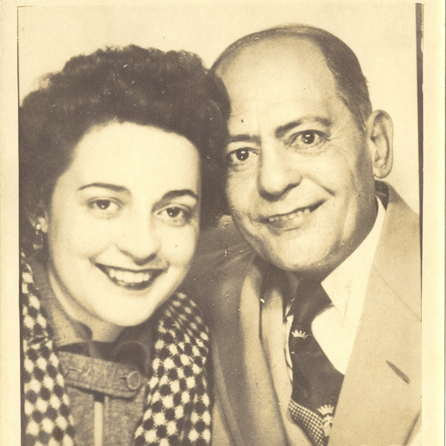 Ana Livia Cordero and Father