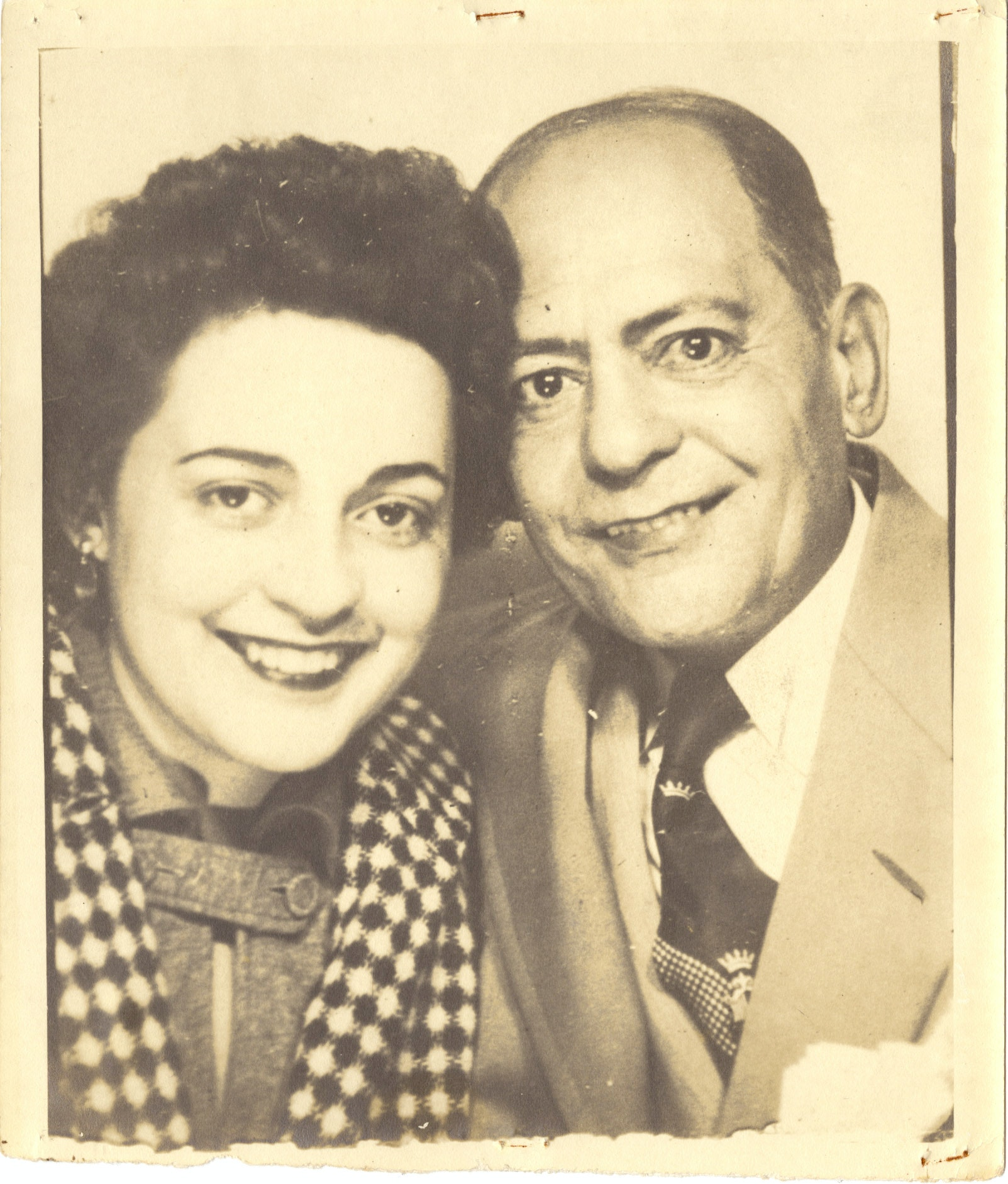 Ana Livia Cordero and Father