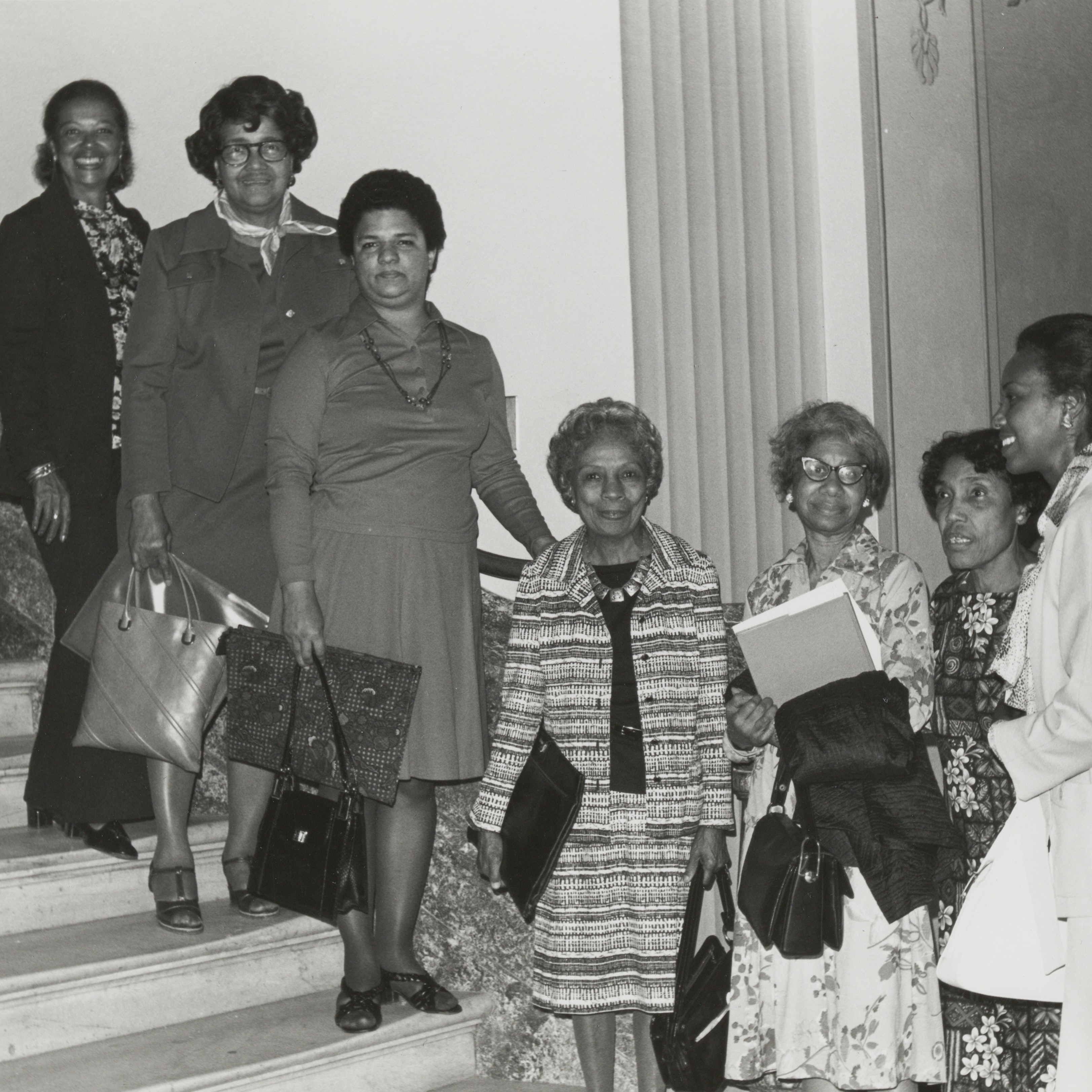 Group portrait of Black Women Oral History Project Advisory Board