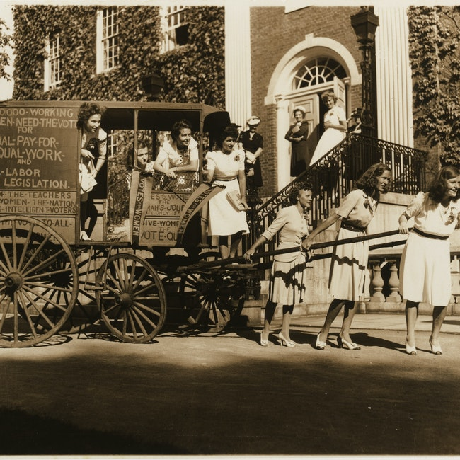 Founding of the Women's Archives at Radcliffe College