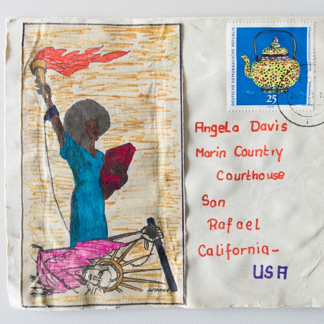 Postcards from the Angela Y. Davis Papers