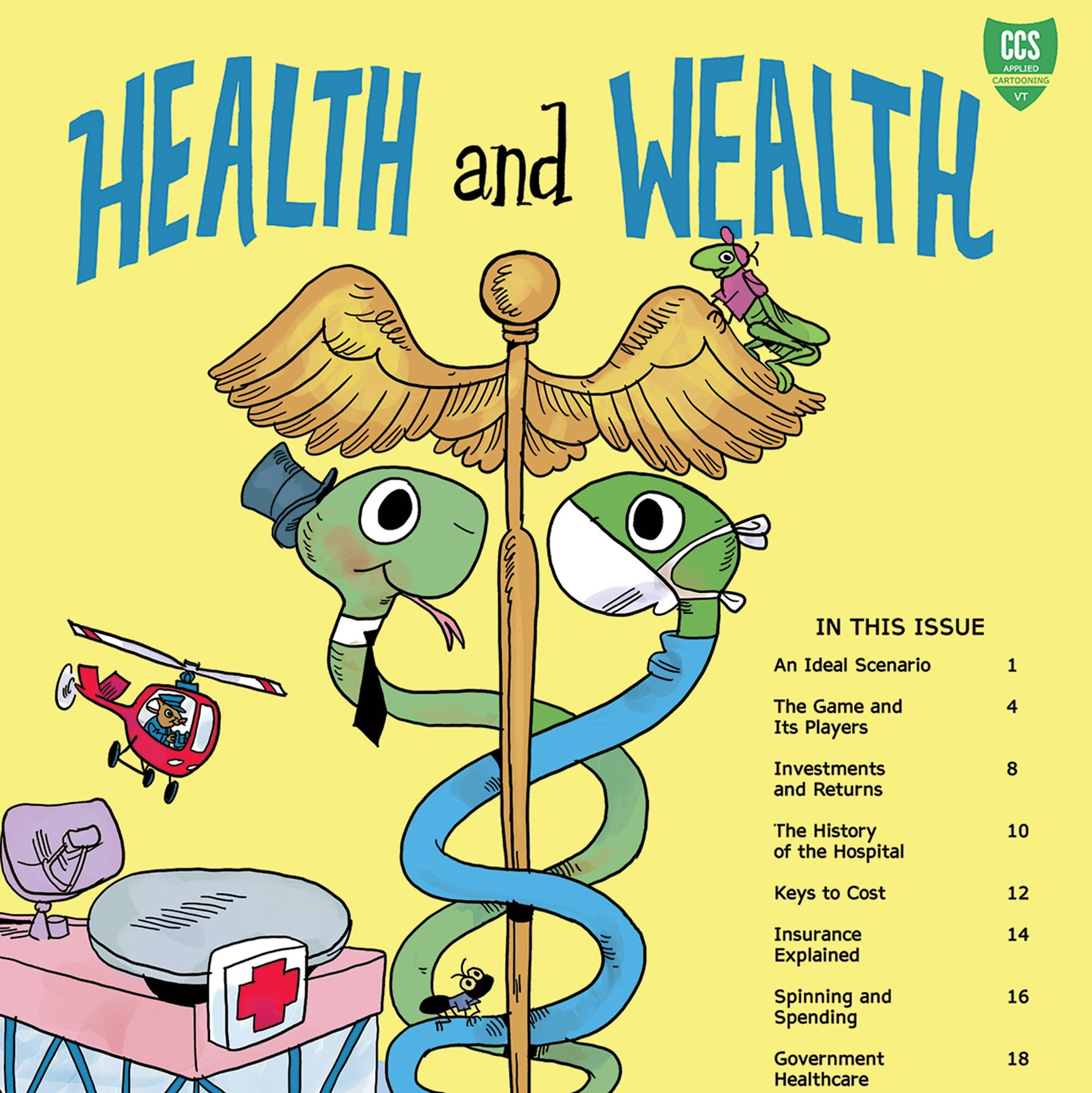 Cover image of the Health And Wealth comic book