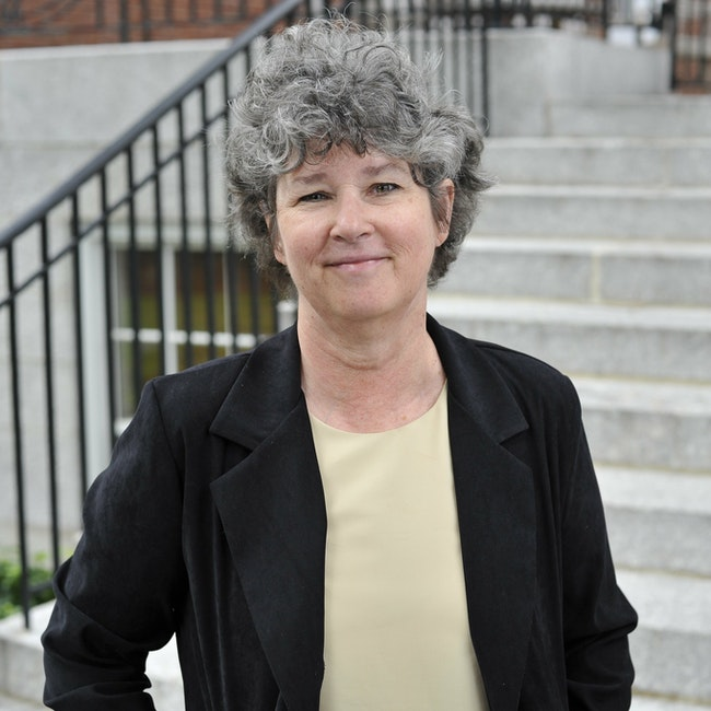 Headshot of Joan Ruderman