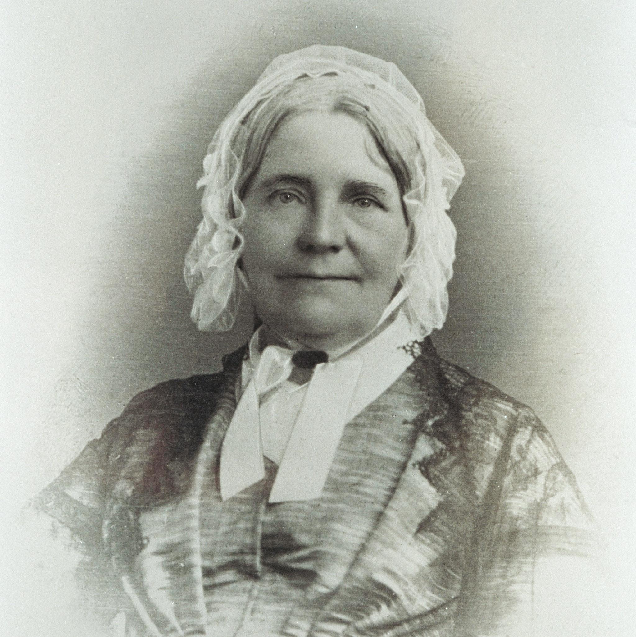 Portrait of Hannah Lane Blackwell