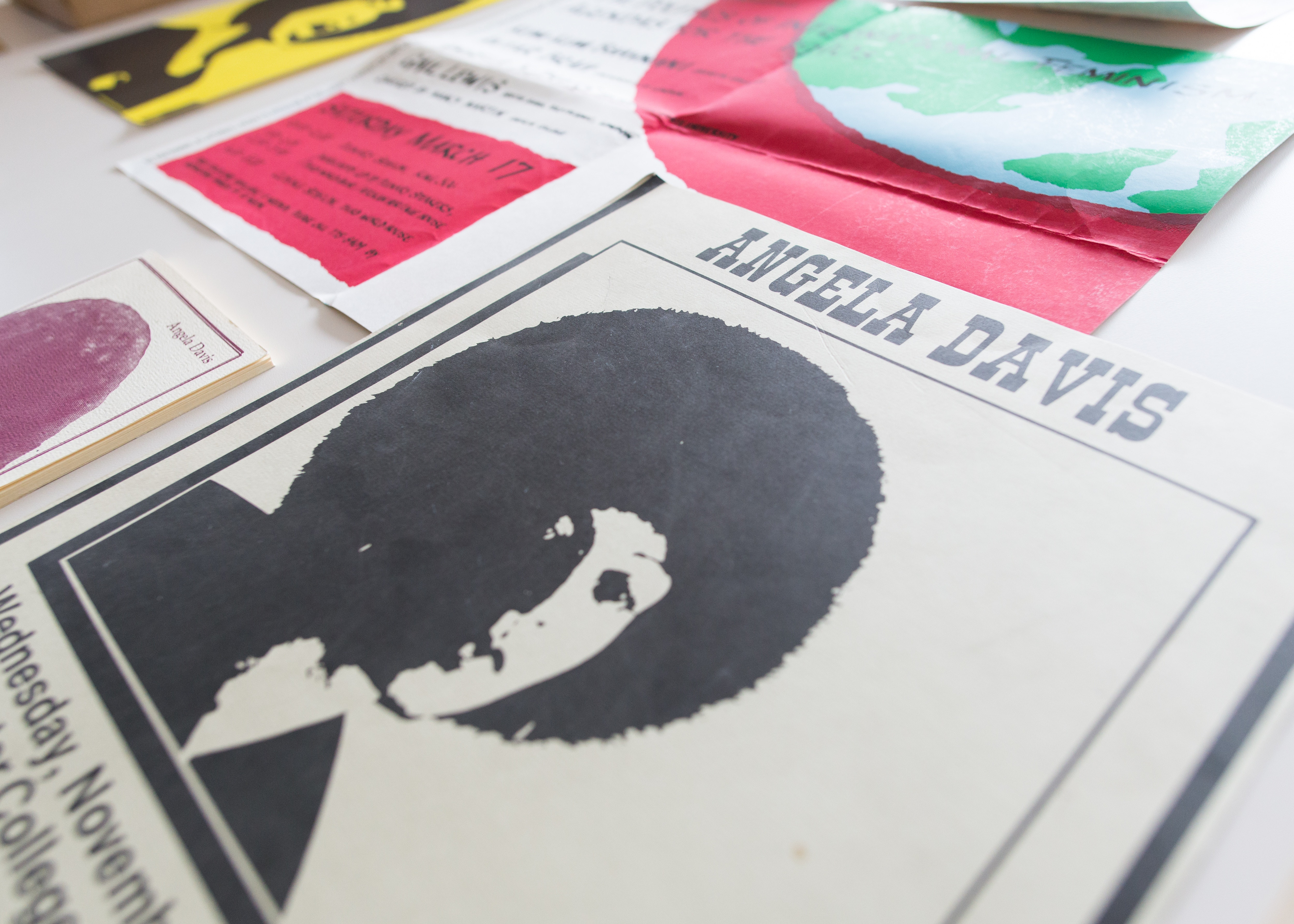 Items from the Angela Y. Davis Papers