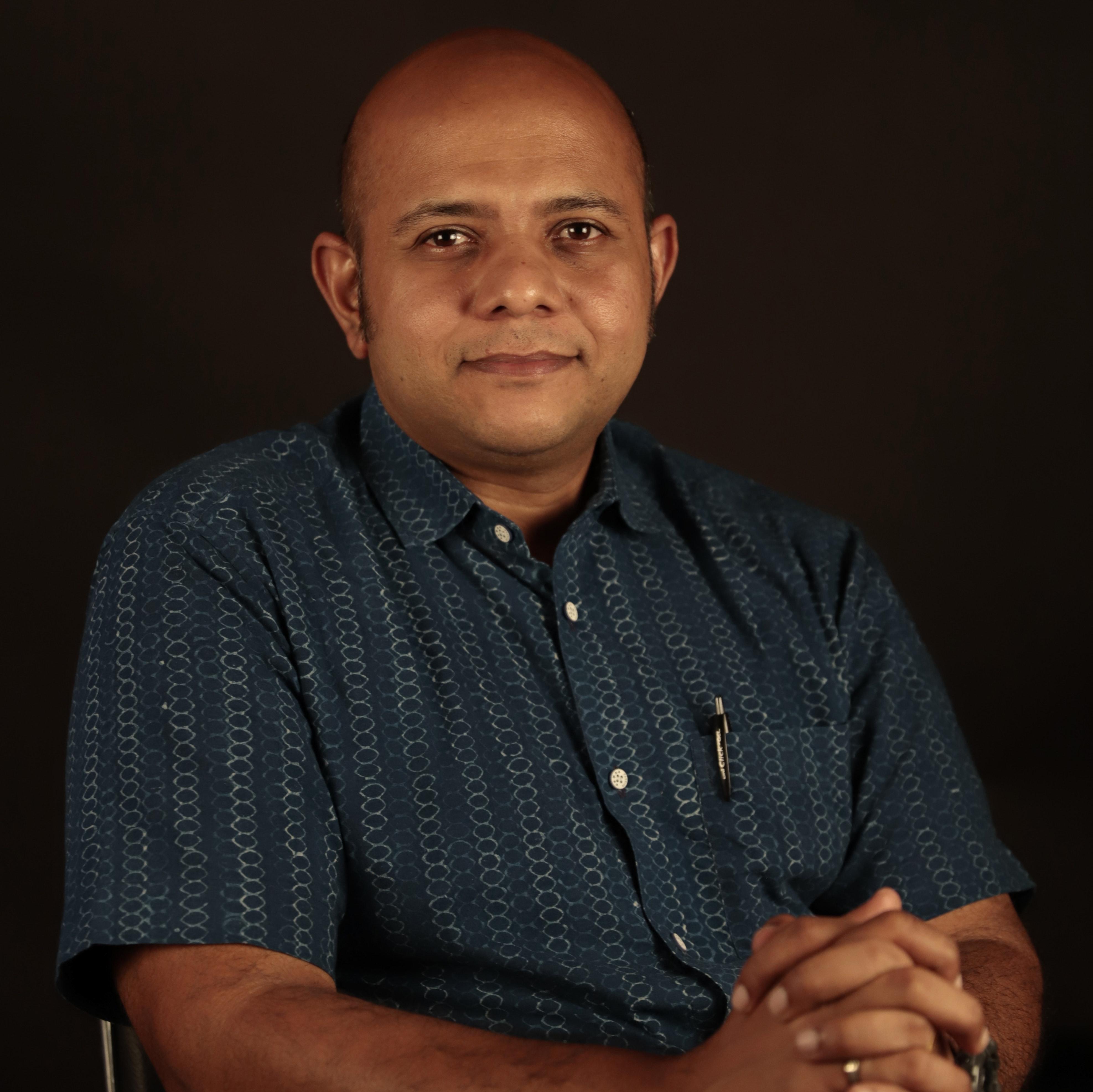 Portrait of Vinod Jose