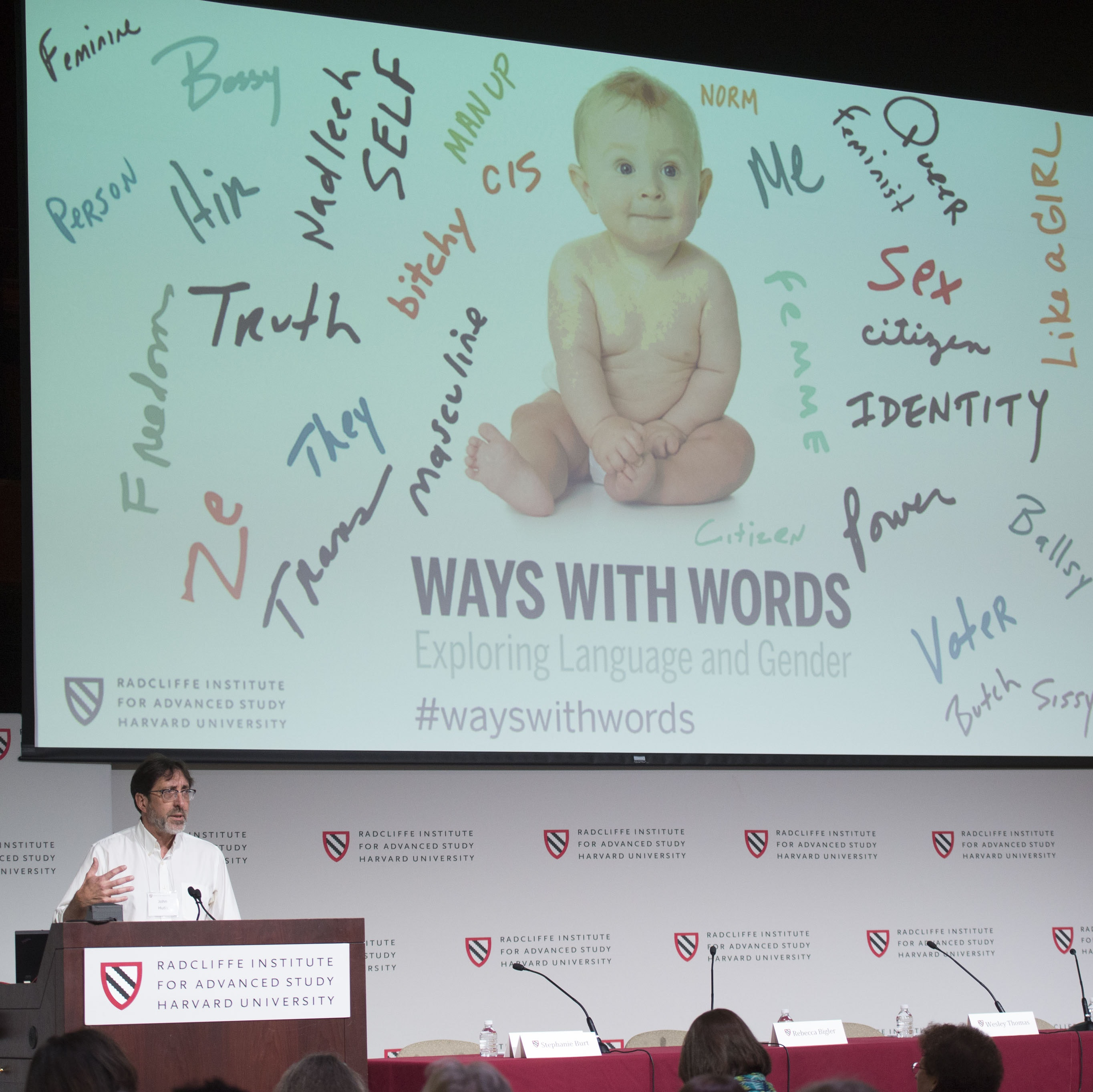 "Speaker at ""Ways with Words"" conference."