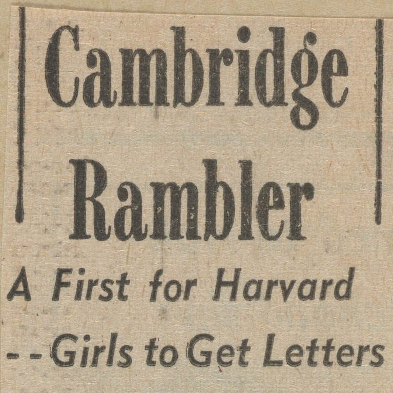 Boston Herald American clipping