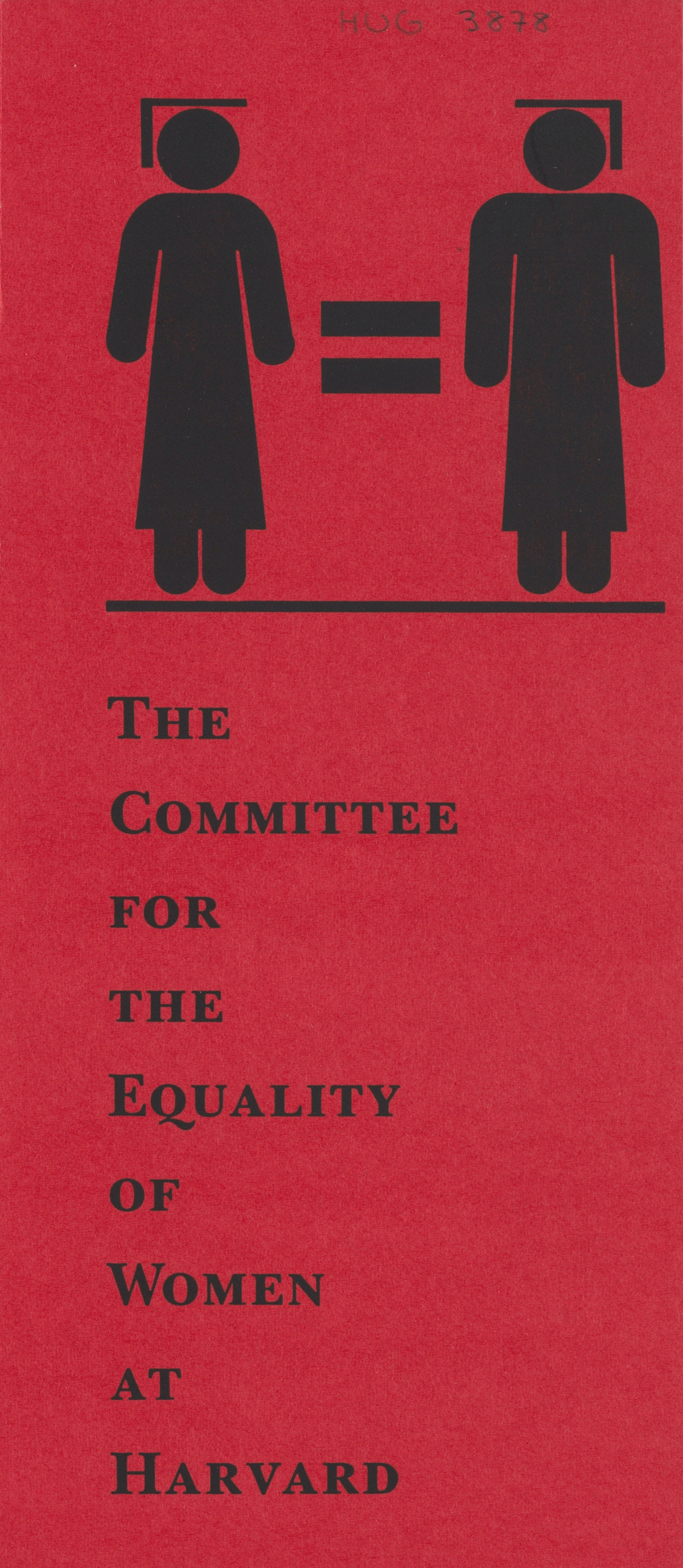 Committee for the Equality of Women Brochure