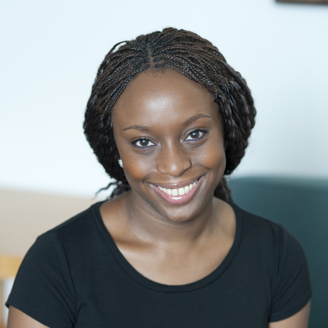 Headshot of Chimamanda Adichie
