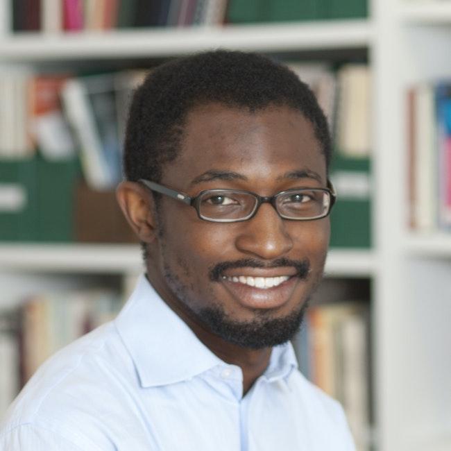 Headshot of Uzodinma Iweala