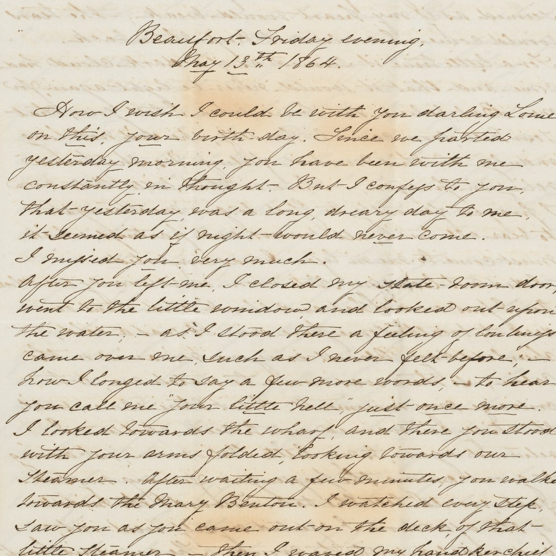Letter to Lewis Ledyard Weld