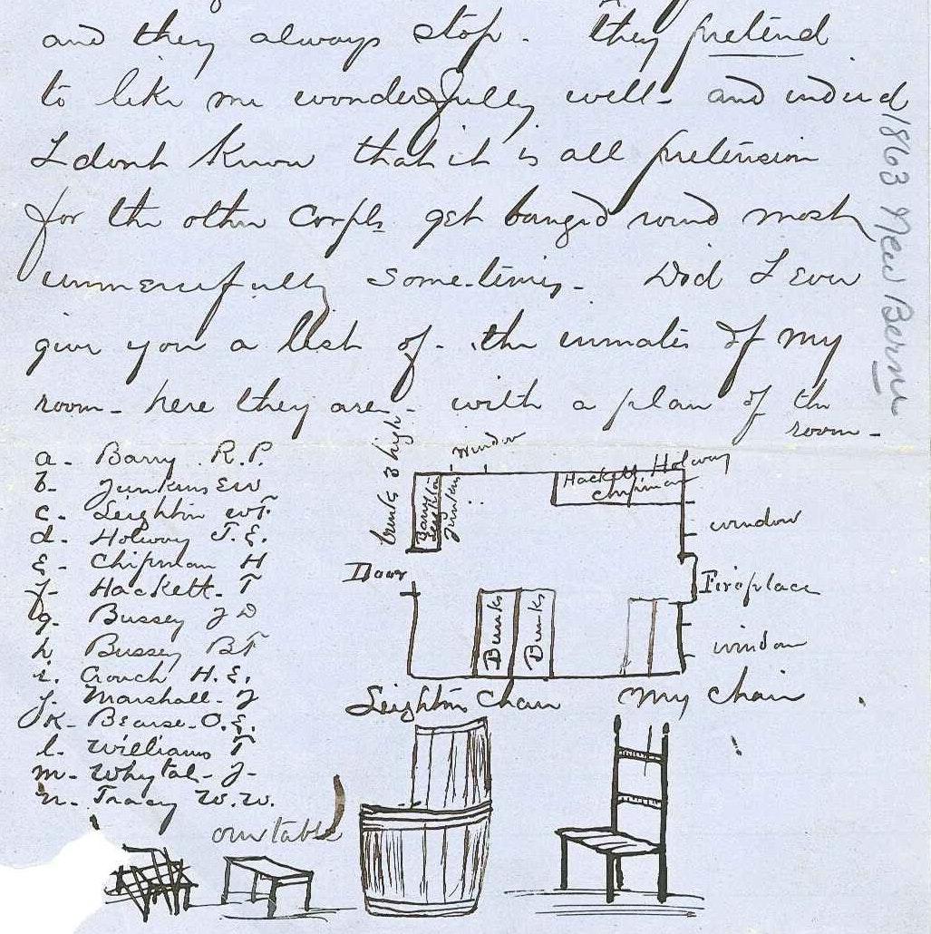 Letter from Major Royal Pierce Barry