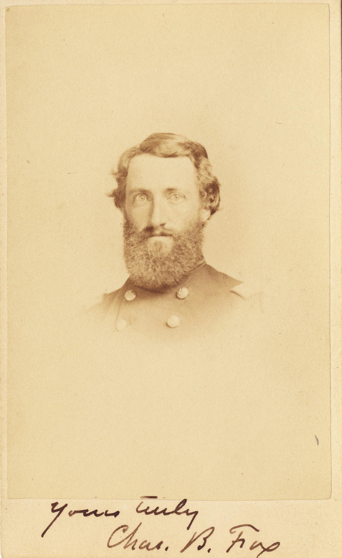 Portrait of Charles Barnard Fox