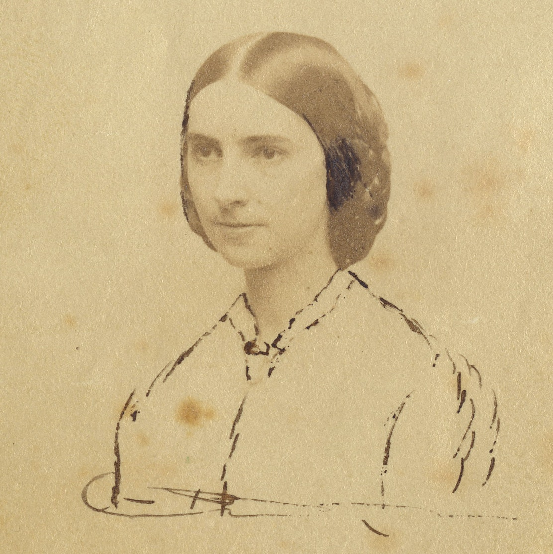 Portrait of Ruth Anne (Prouty) Fox