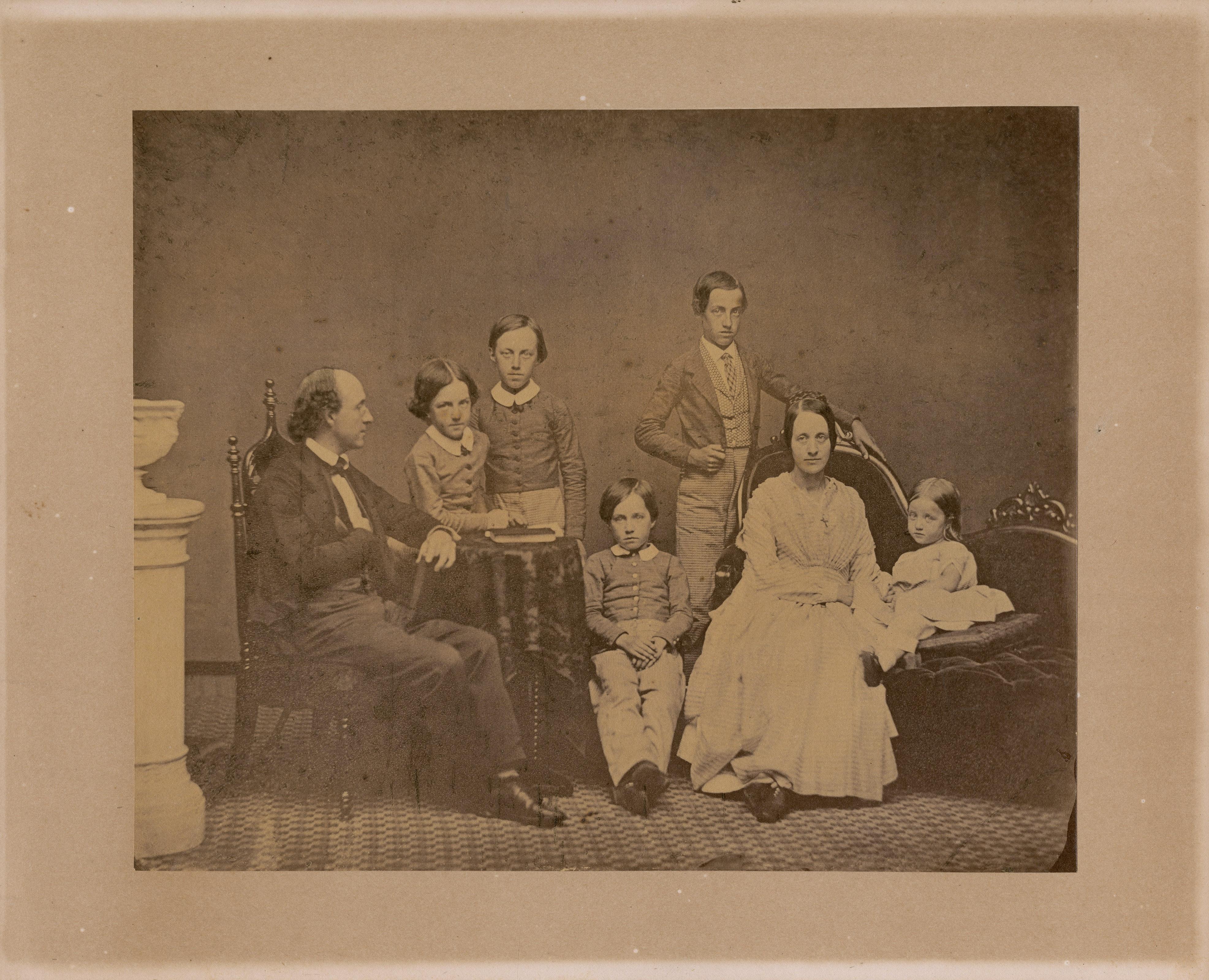 Portrait of the Fox Family
