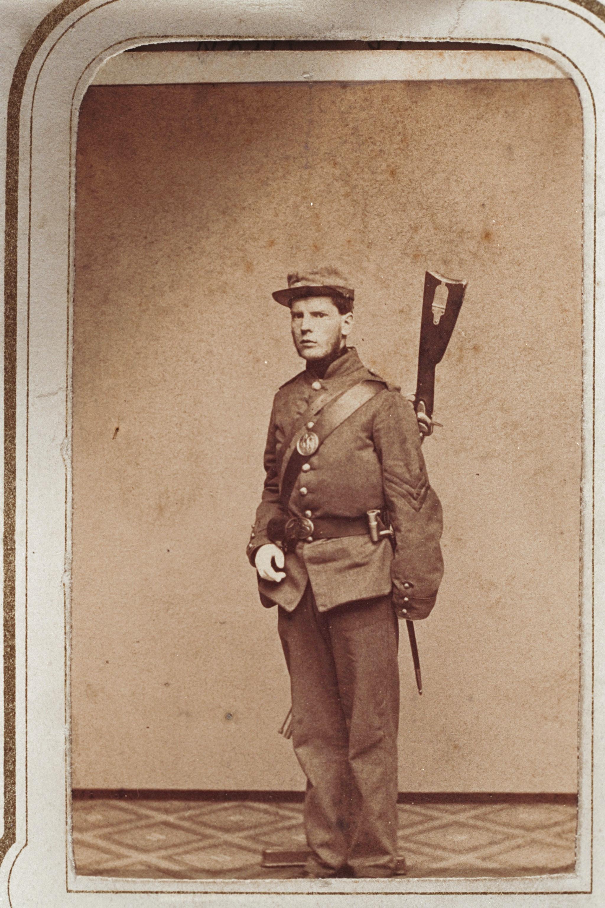 Fred Stowe in uniform