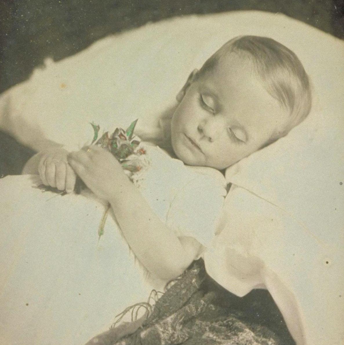 Daguerreotype of Samuel Charles Stowe