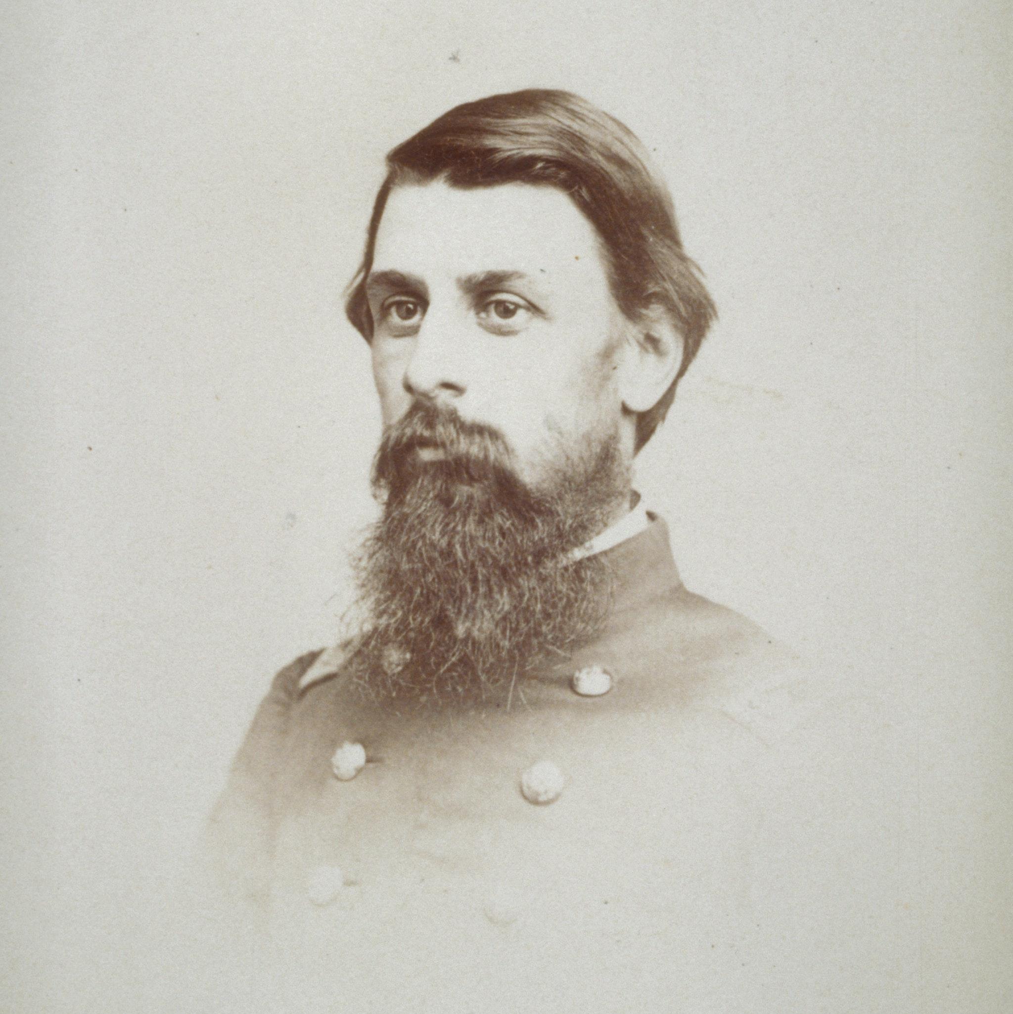 Portrait of Lewis Ledyard Weld in uniform