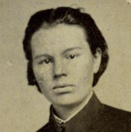 Portrait of Frances Hook in her uniform