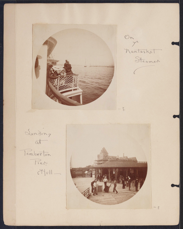Album of Helen Augusta Whittier