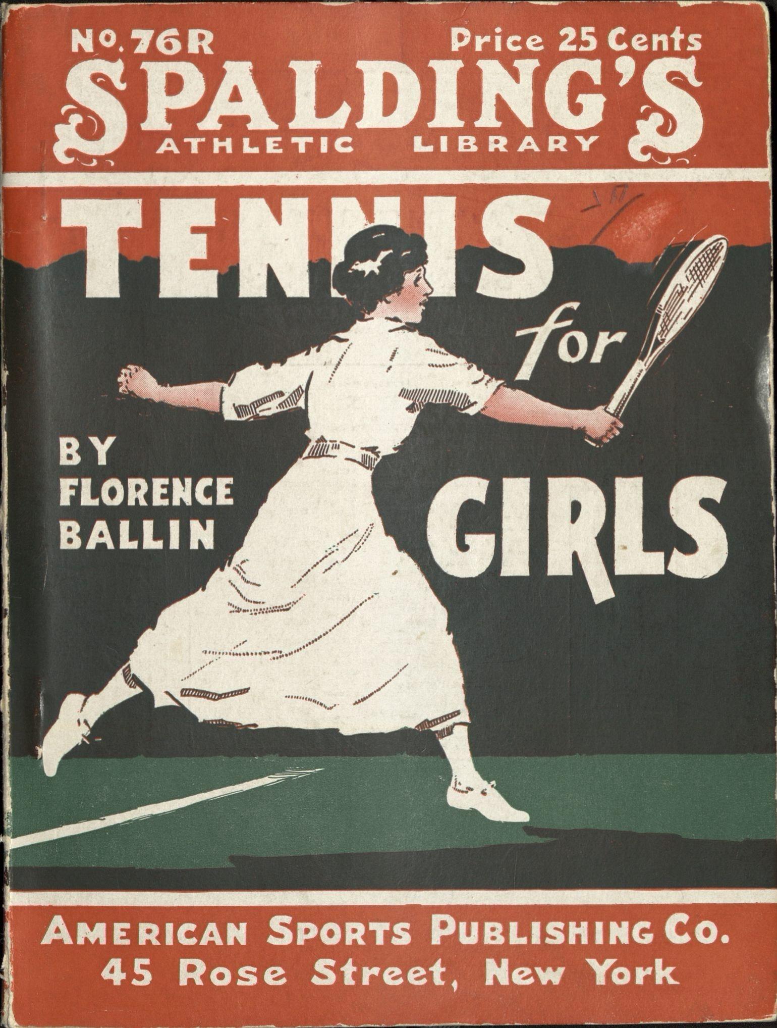 Tennis For Girls Schlesinger Library 990126902550203941
