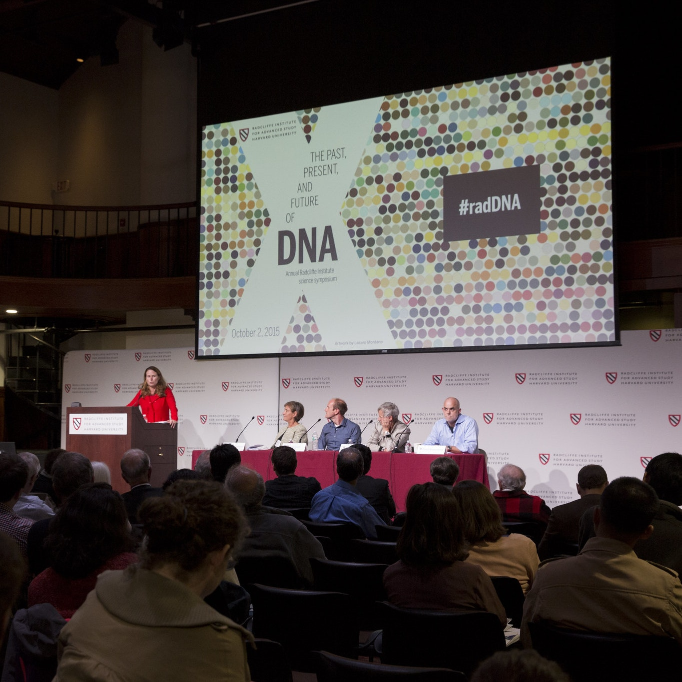 "Panel at ""The Past, Present, and Future of DNA"" conference."