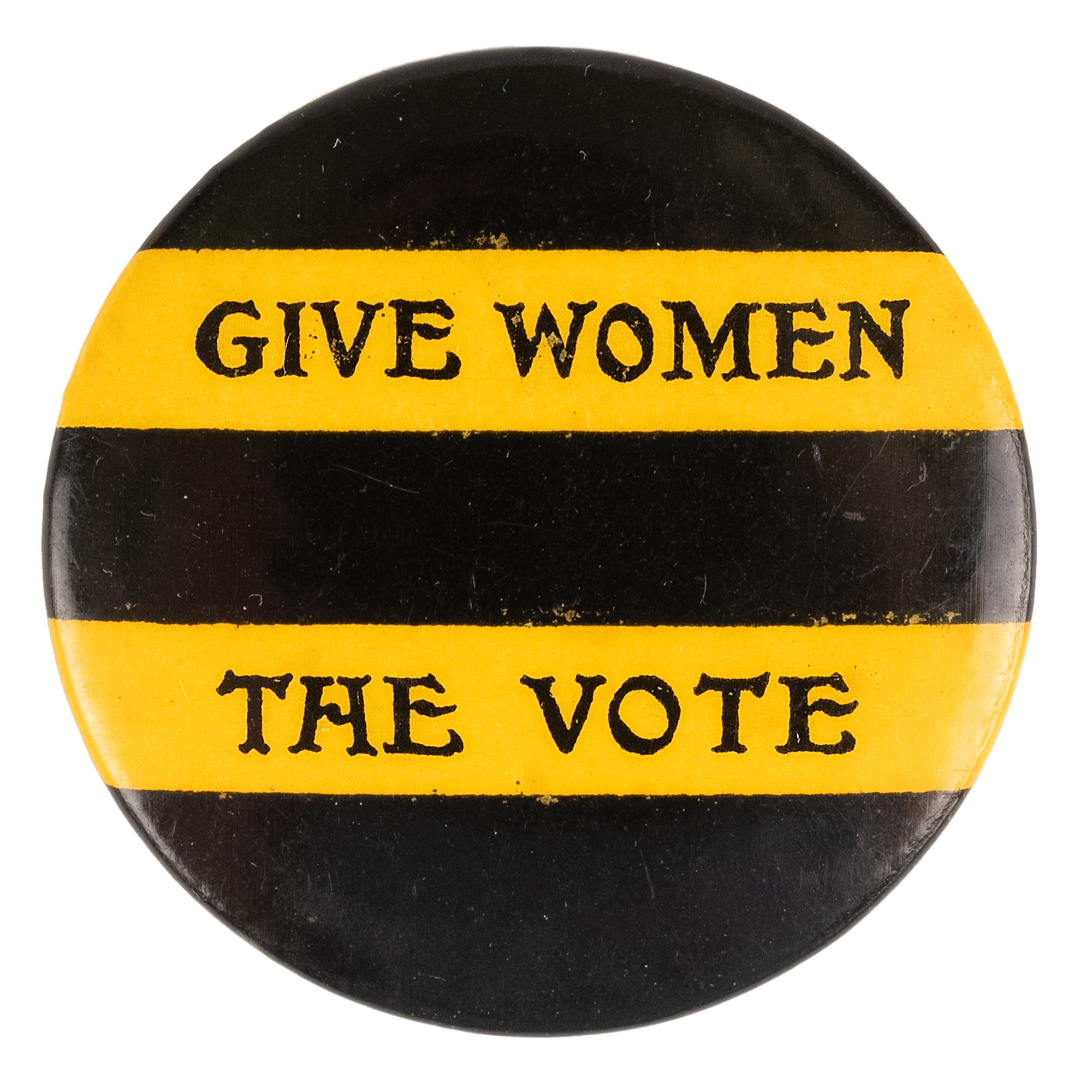 Pin that says Give Women The Vote