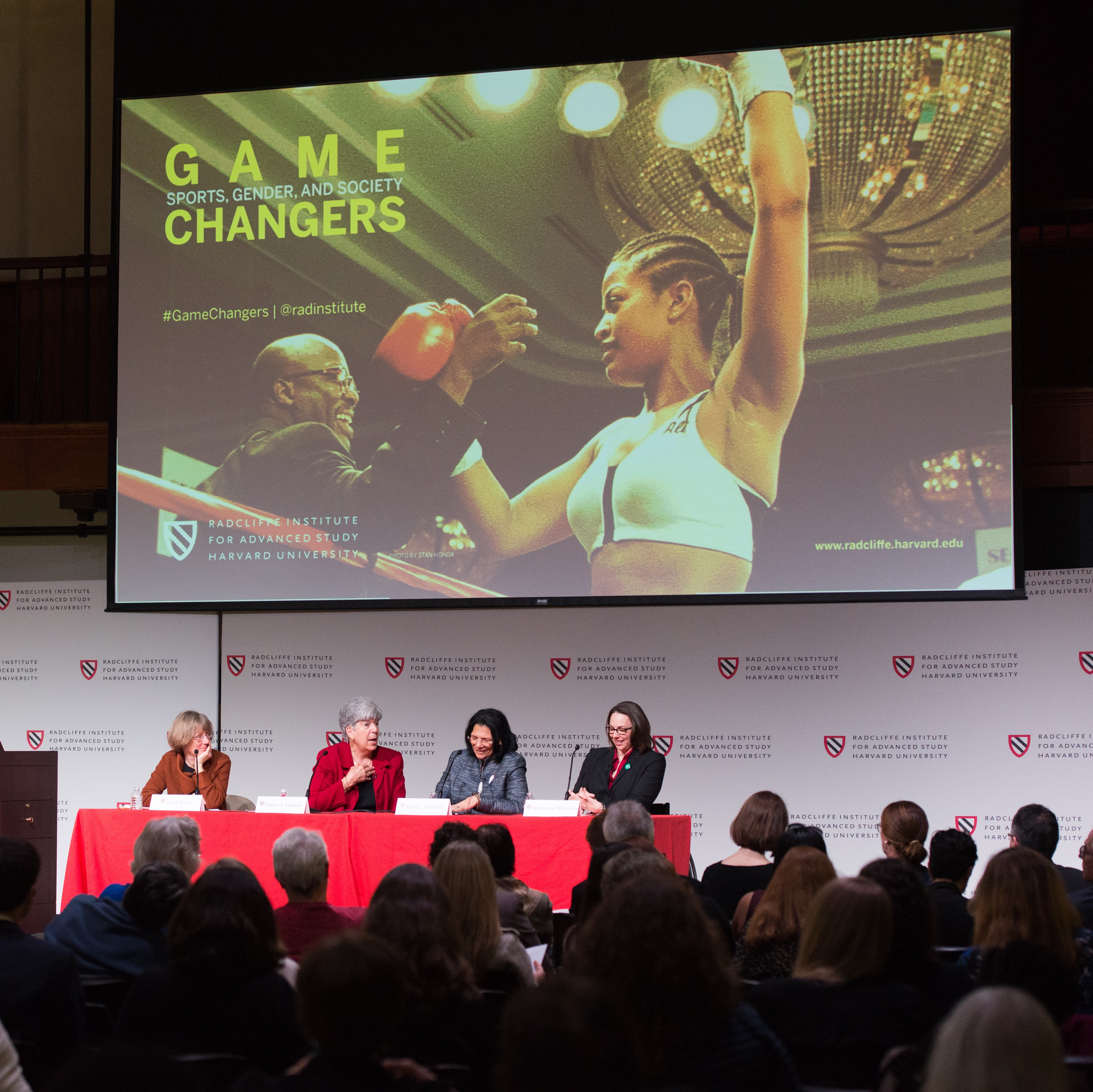 """Who Gets to Play? panel at """"Game Changers"""""""