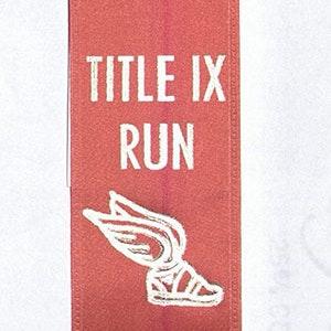 Break The Tape Run And Rally Ribbon Schlesinger